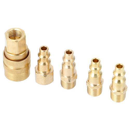 Wholesale 5pc Brass Quick Coupler Set Image 3