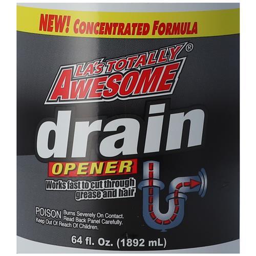 Wholesale Awesome Drain Opener Liquid 64 oz Image 4
