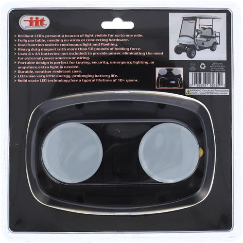 Wholesale CLEAR MAGNETIC LED SAFETY LIGHT Image 2
