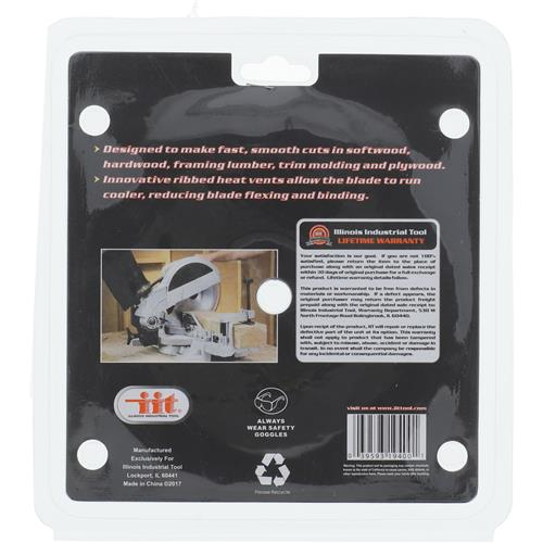 """Wholesale 7-1/4"""" Carbide Tipped 24 Tooth Saw Blade Image 2"""