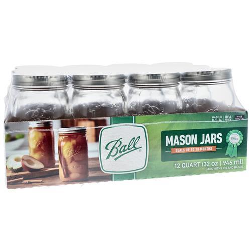 Wholesale Regular Canning jar - Quart - Ball Image 2