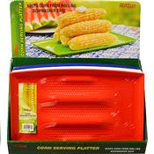 "Wholesale CORN SERVING PLATTER 13x8"" ASSORTED COLORS"