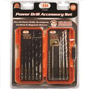 Wholesale 12pc POWER DRILL ACCESSORY KIT
