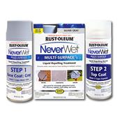 Wholesale NEVERWET SPRAY KIT SILVER GRAY