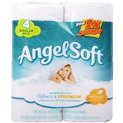 Wholesale Angel Soft Regular Bath Tissue White 2 Ply
