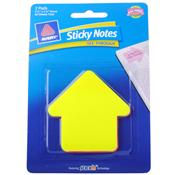 "Wholesale Avery Sticky Notes See-Through 2 Pads 2.75"" x 2.75"" Arrow Shaped"
