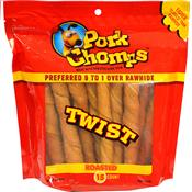 Wholesale 15CT PORK TWISTS DOG TREAT