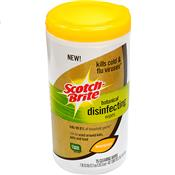 Wholesale 3M 75CT DISINFECTANT WIPES