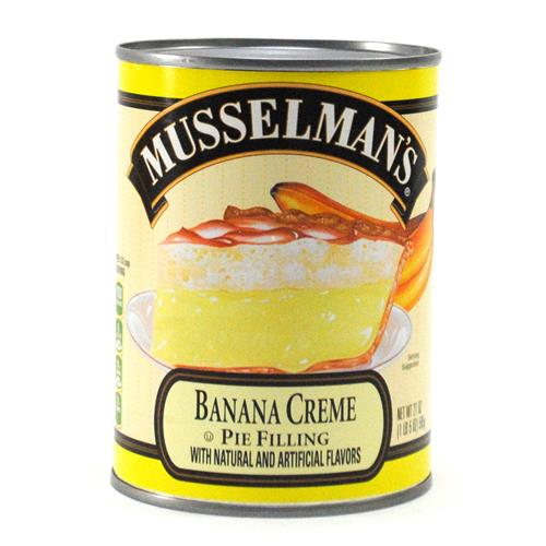 Wholesale Musselman's Banana Cream Pie Filling