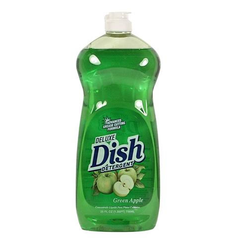 Wholesale Deluxe Dish Liquid - Green Apple