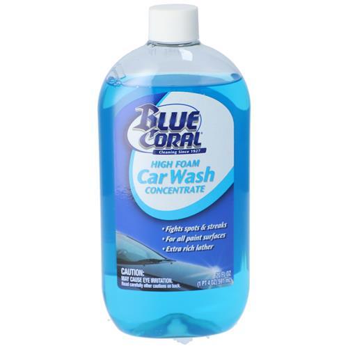 Wholesale 20oz BLUE CORAL HI FOAM CAR WASH CONCENTRATE