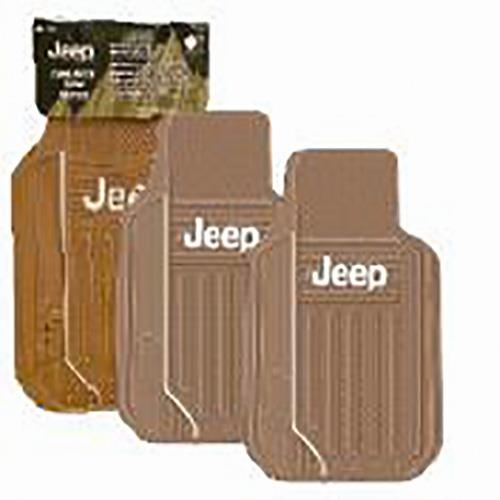 Wholesale 2PK JEEP FLOOR MATS -TAN