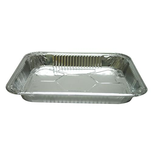 Wholesale Foil Pan 1/2 Size - Shallow No UPC Label 12.6x10.3x1.6""