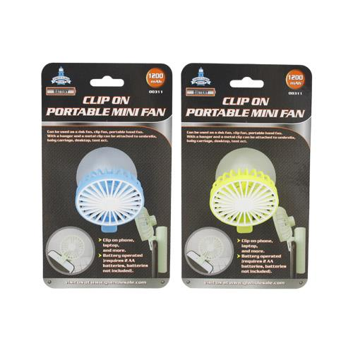 Wholesale CLIP-ON PORTABLE MINI FAN