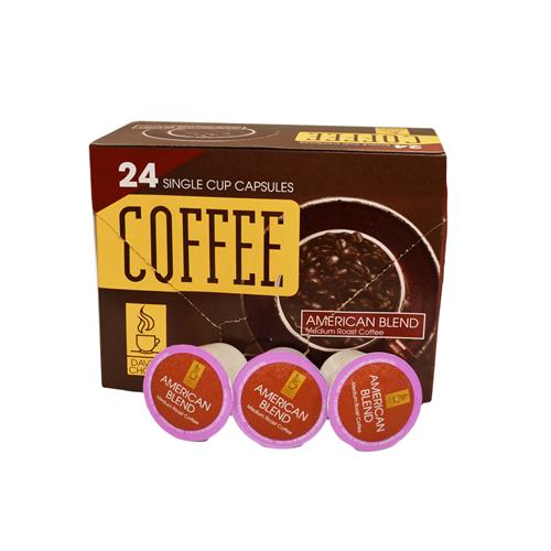 Wholesale 24 SINGLE CUP COFFEE CAPSULES