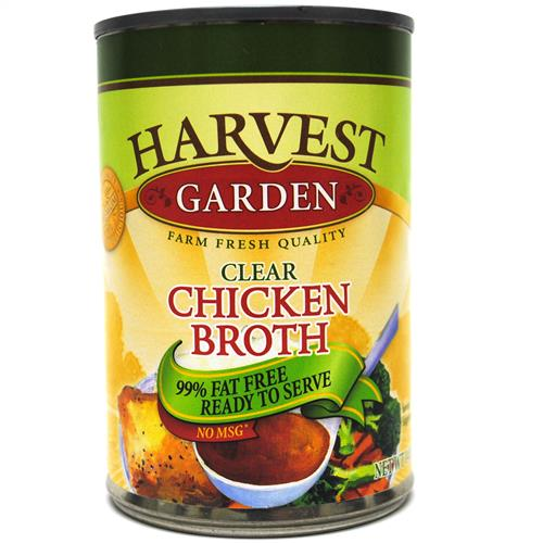 Wholesale Harvest Garden Chicken Broth