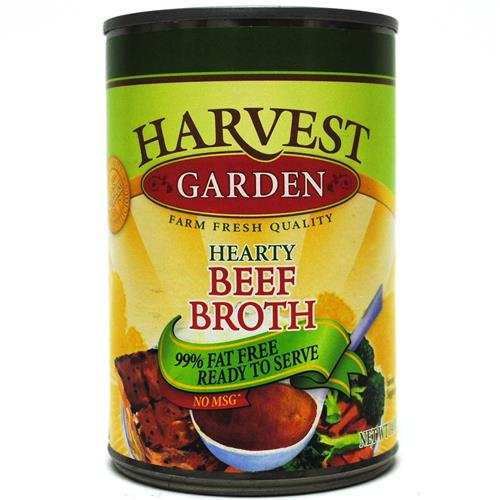 Wholesale Harvest Garden Beef Broth