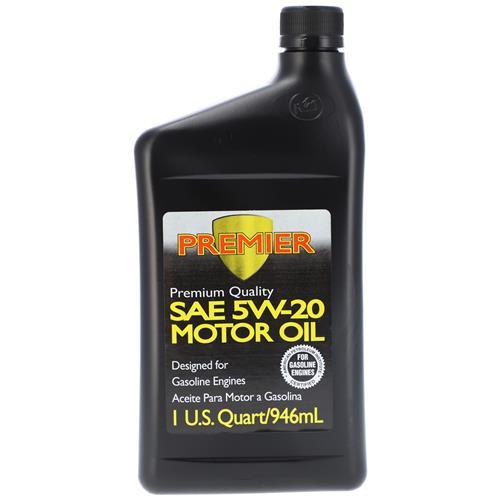 Wholesale 1QT PREMIER 5W20 MOTOR OIL