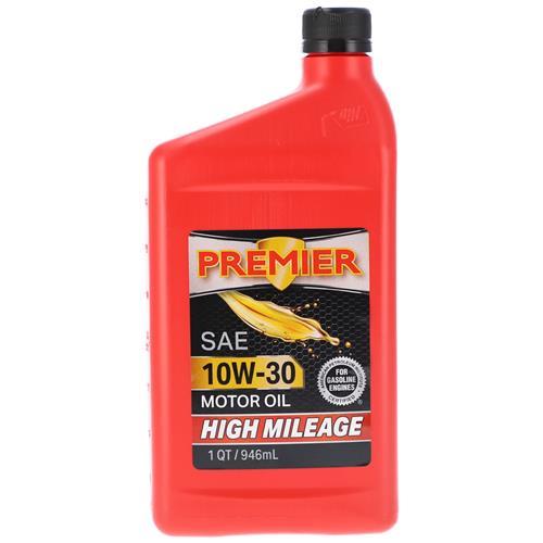 Wholesale 1QT PREMIER 10W30 HI MILEAGE MOTOR OIL