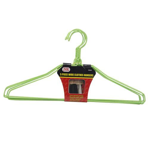 Wholesale 5pc WIRE CLOTHES HANGERS