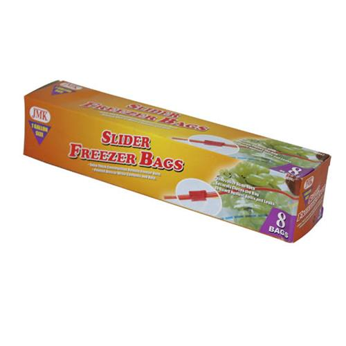 Wholesale 8PC SLIDER GAL FREEZER BAGS