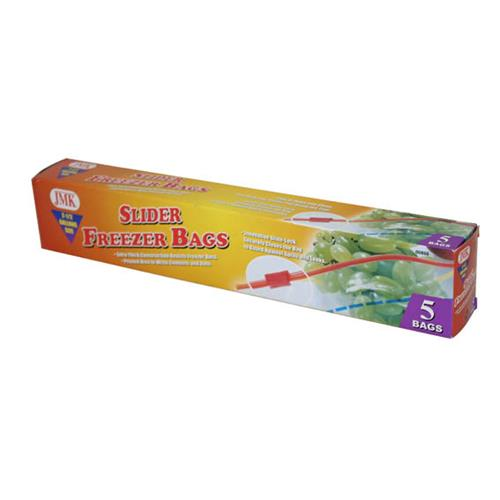Wholesale 5PC SLIDER 2.5 GAL FREEZER BAGS