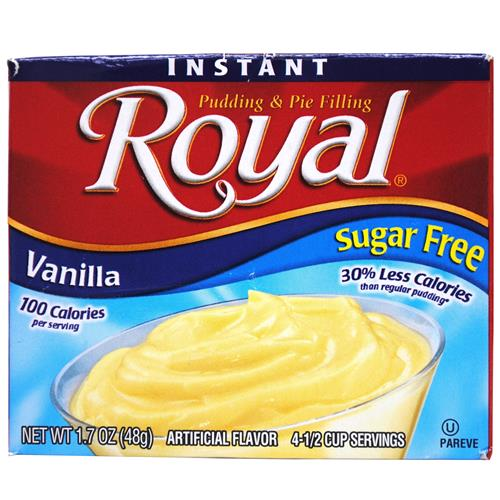 Wholesale Royal Instant Pudding Sugar Free Vanilla