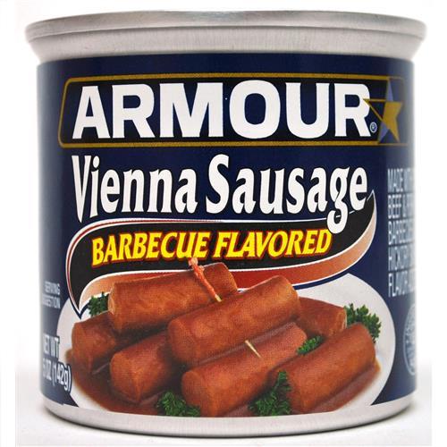 Wholesale Armour Vienna Sausage Barbecue