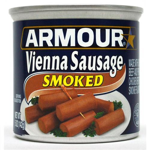 Wholesale Armour Vienna Sausage Smoked