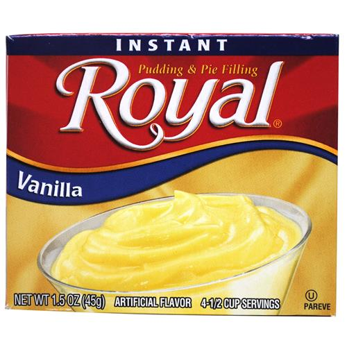 Wholesale Royal Instant Pudding and Pie Filling Vanilla