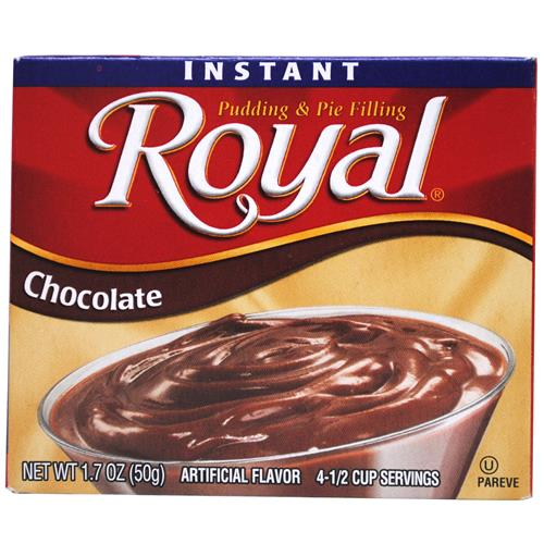 Wholesale Royal Instant Pudding and Pie Filling Chocolate