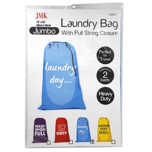 "Wholesale 24"" x 36"" JUMBO LAUNDRY BAG"
