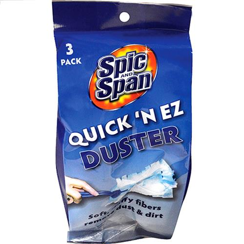 Wholesale Quick 'N EZ Duster w/3 pads - Spic and Span