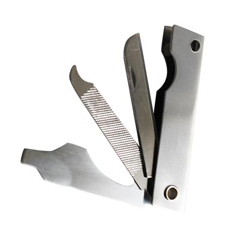 Wholesale 3 BLADE STAINLESS KNIFE-FILE-DRIVER BULK