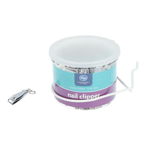 Wholesale 72PC FINGERNAIL CLIPPER IN DRUM KROGER