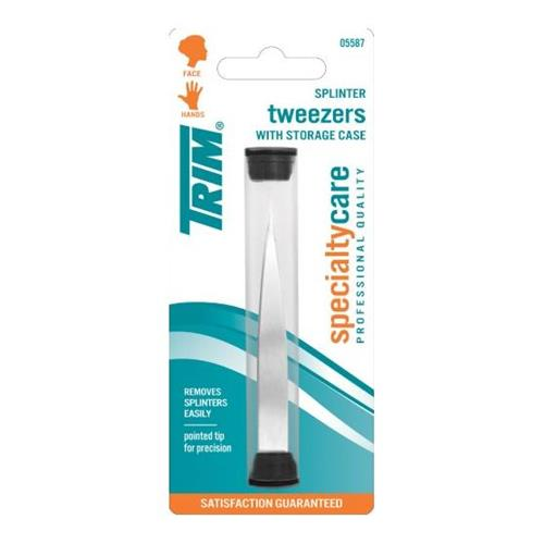 Wholesale SPLINTER TWEEZER WITH STORAGE TUBE