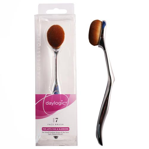 Wholesale OVAL COSMETIC BRUSH #7 FOR APPLYING & BLENDING