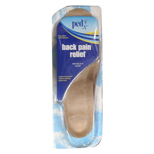 Wholesale MENS INSOLES BACK PAIN RELIEFT SIZE 8-13 CUT TO FIT PED-X