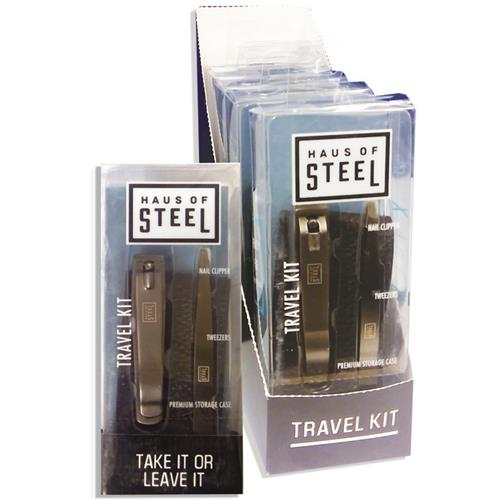 Wholesale TRAVEL KIT -NAIL CLIPPER, TWEEZER & STORAGE CASE