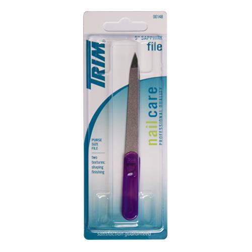 "Wholesale 5"" PURSE SIZE SAPPHIRE FILE TRIM #00148"