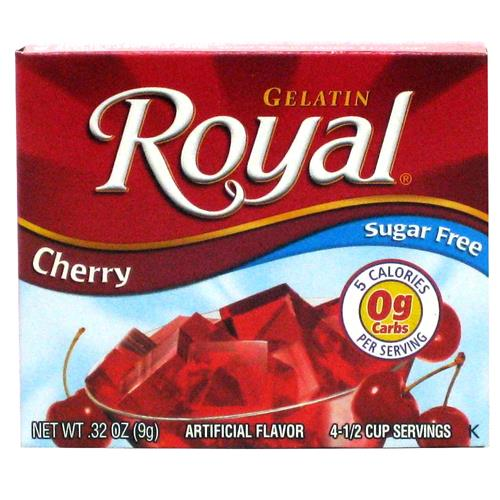 Wholesale Royal Sugar Free Gelatin Cherry