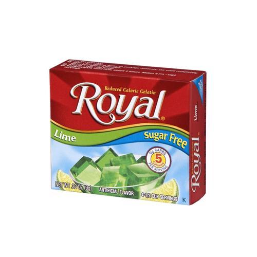 Wholesale Royal Sugar Free Gelatin Lime