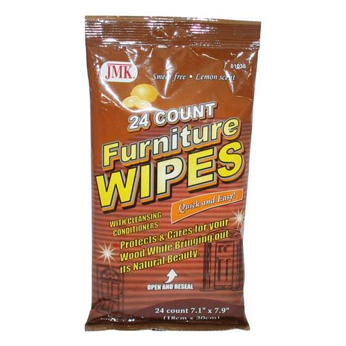 Wholesale 24 COUNT FURNITURE WIPES