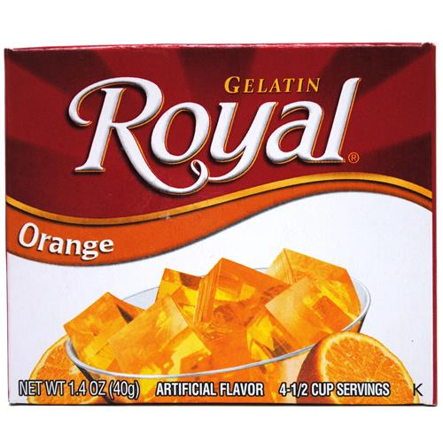 Wholesale Royal Gelatin Orange