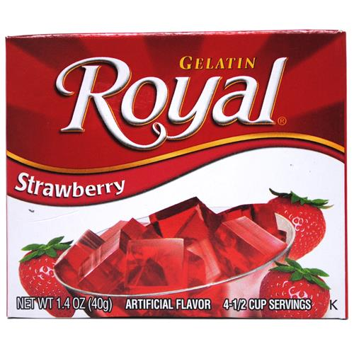 Wholesale Royal Gelatin Strawberry