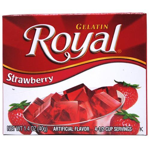 Wholesale Royal Gelatin Strawberry