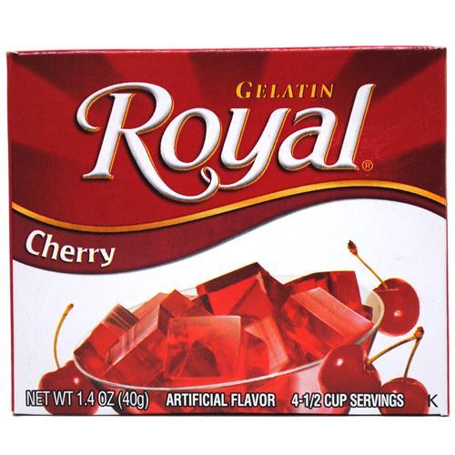 Wholesale Royal Gelatin Cherry