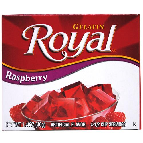Wholesale Royal Gelatin Raspberry
