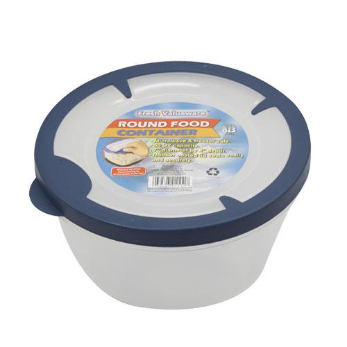 Wholesale 2 quart round food container
