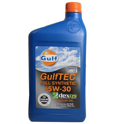 Wholesale 1QT 5-W30 SYNTHETIC MOTOR OIL GULFTEC DEXOS
